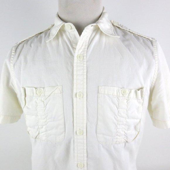 Polo Ralph Lauren Kid/'s Short Sleeve Military T-shirt Petite Size Small